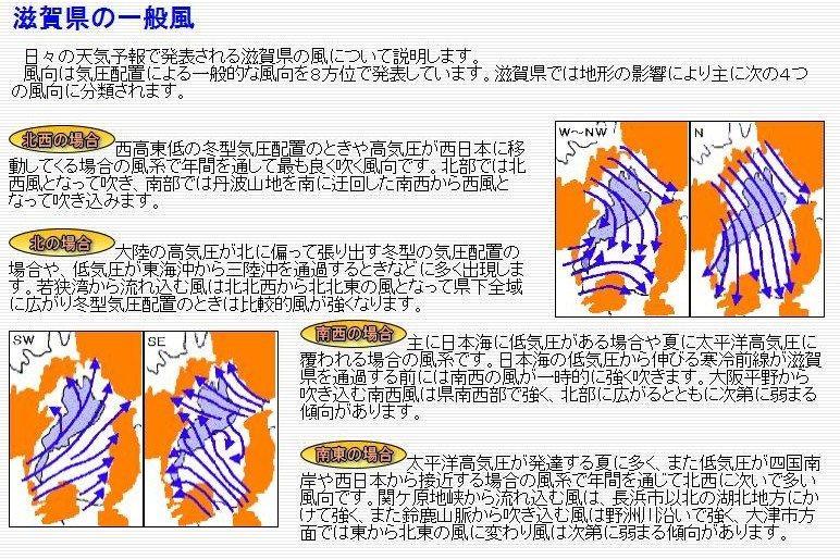 滋賀県の一般風