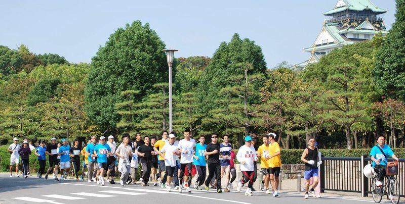 大阪城 玉造門付近